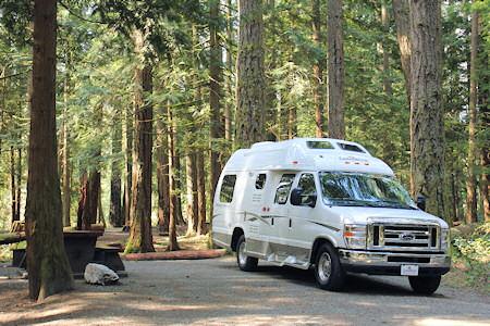 RV Vacations Rentals In Canadas Rocky Mountains Western Canada CanaDream Vancouver Calgary Edmonton Motorhome