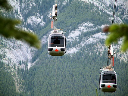 Gondola at Banff
