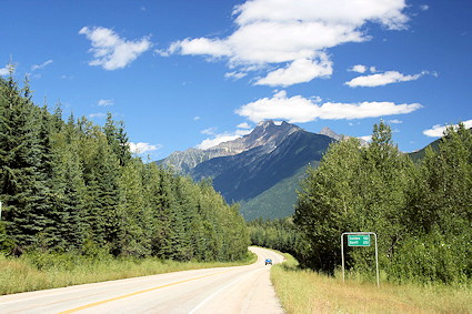 Trans Canada Hwy Mt Revelstoke National Park