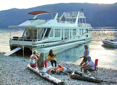 Waterway houseboats sicamous bc houseboat rentals amp houseboating